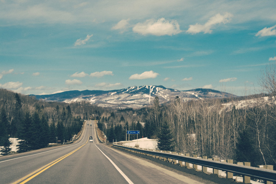 drive to tremblant