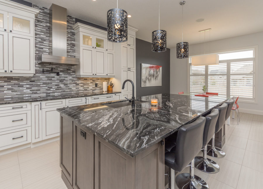 modern kitchen bar